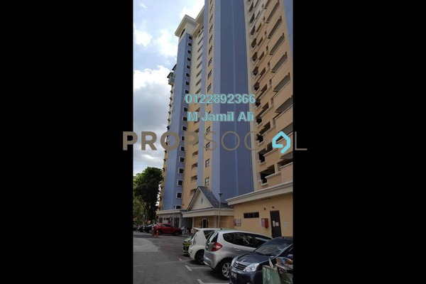 For Rent Condominium at Vista Komanwel, Bukit Jalil Freehold Fully Furnished 3R/2B 1.7k