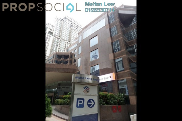 For Rent Office at Wisma Hong Leong, KLCC Freehold Semi Furnished 0R/0B 113k