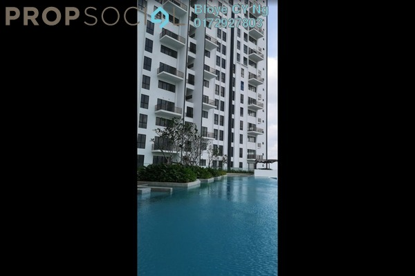 For Rent Condominium at The Andes, Bukit Jalil Freehold Semi Furnished 3R/2B 1.8k