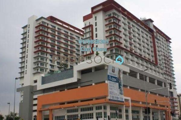 For Rent SoHo/Studio at Ritze Perdana 2, Damansara Perdana Freehold Fully Furnished 1R/1B 1.7k