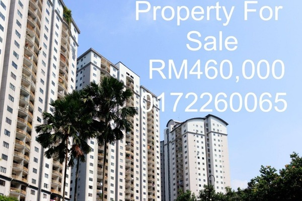 For Sale Condominium at Sri Putramas I, Dutamas Freehold Unfurnished 3R/2B 460k