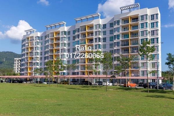 For Sale Apartment at Taman Bandar Senawang, Senawang Freehold Semi Furnished 3R/2B 290k