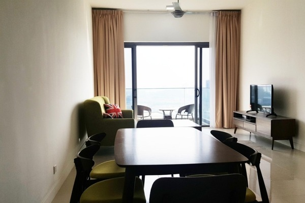 For Sale Serviced Residence at Reflection Residences, Mutiara Damansara Freehold Semi Furnished 3R/2B 950k