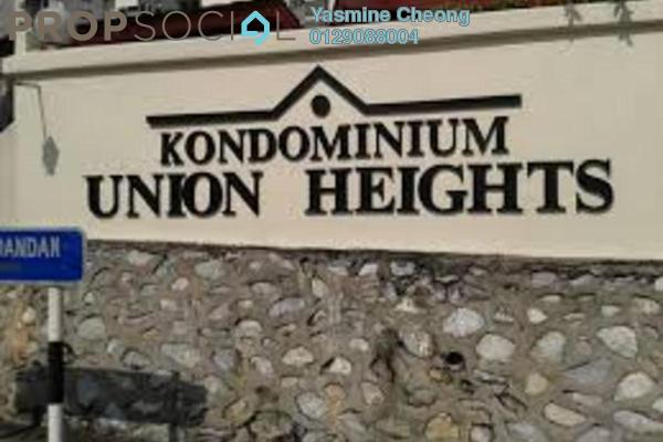 For Sale Condominium at Union Heights, Old Klang Road Freehold Fully Furnished 3R/2B 418k