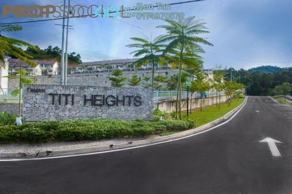 For Sale Terrace at Taman Titi Heights, Balik Pulau Freehold Unfurnished 4R/4B 678k