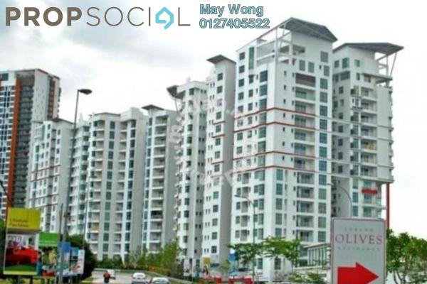 For Sale Serviced Residence at Subang Olives, Subang Jaya Freehold Semi Furnished 4R/3B 855k