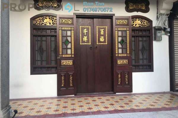 For Sale Terrace at Lorong Macalister, Georgetown Freehold Fully Furnished 5R/5B 4.6m