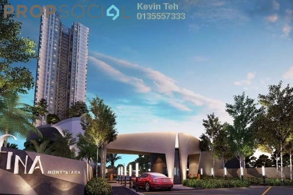 For Sale Condominium at Residensi Sefina, Mont Kiara Freehold Semi Furnished 3R/2B 1.05m