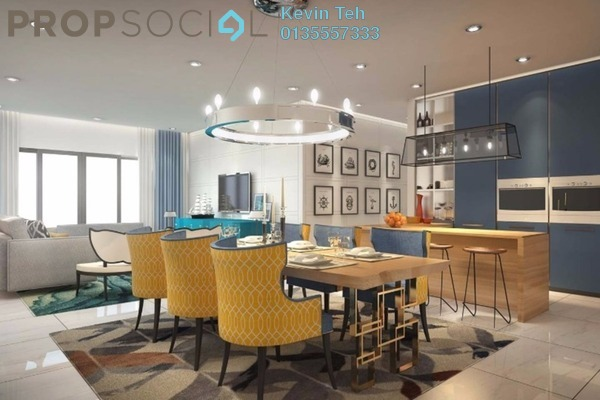 For Sale Condominium at Residensi Sefina, Mont Kiara Freehold Semi Furnished 3R/3B 1.25m