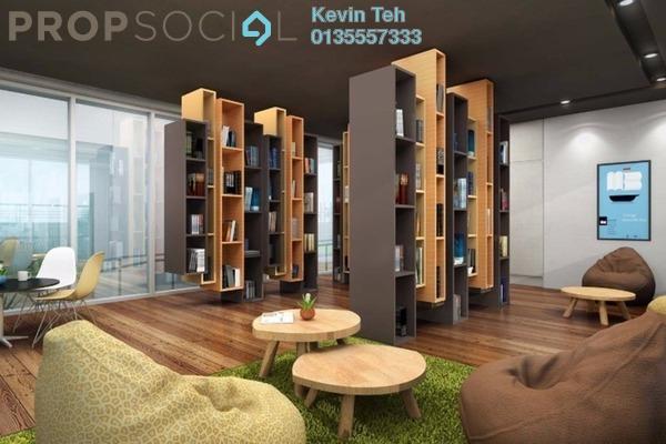 For Rent Condominium at Residensi Sefina, Mont Kiara Freehold Semi Furnished 3R/3B 5k