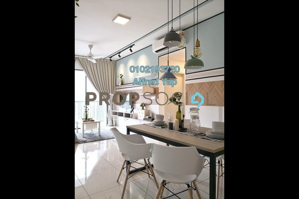 For Rent Condominium at Casa Green, Bukit Jalil Freehold Fully Furnished 3R/3B 2.4k