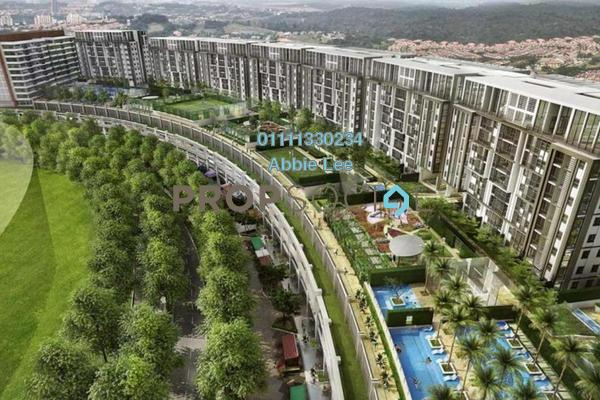 For Rent Condominium at Radia Residences, Bukit Jelutong Freehold Fully Furnished 1R/1B 1.5k