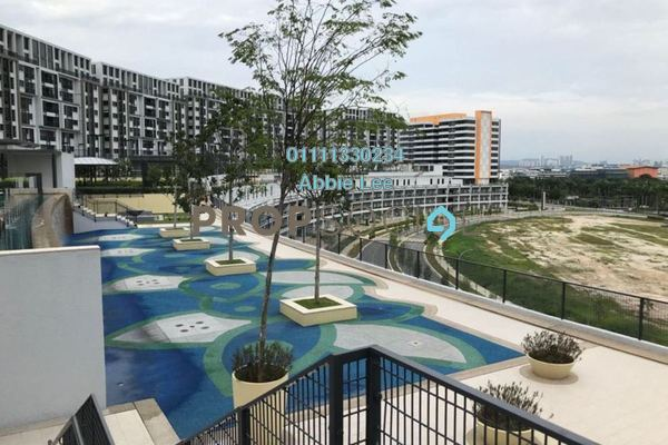 For Rent Condominium at Radia Residences, Bukit Jelutong Freehold Semi Furnished 1R/1B 1.2k