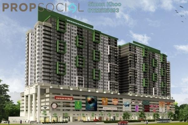 For Sale SoHo/Studio at Alam Sanjung, Shah Alam Freehold Semi Furnished 1R/1B 230k