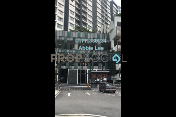 For Rent Condominium at Suria Residence, Bukit Jelutong Freehold Semi Furnished 2R/2B 1.4k