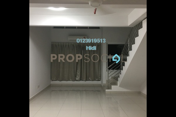 For Rent Duplex at De Centrum Residences, Kajang Freehold Semi Furnished 1R/2B 1.4k