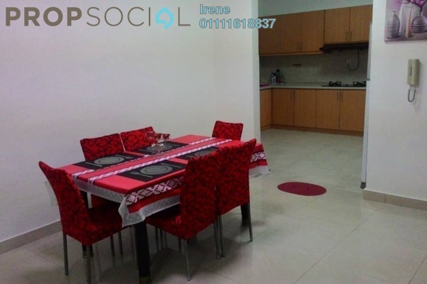 For Rent Condominium at Rivercity, Sentul Freehold Fully Furnished 3R/3B 2.3k