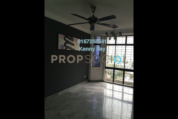 For Sale Apartment at Nilam Apartment, Segambut Freehold Semi Furnished 3R/2B 375k
