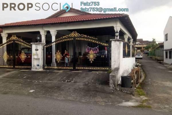 For Sale Terrace at Lembah Keramat, Wangsa Maju Leasehold Fully Furnished 4R/3B 870k