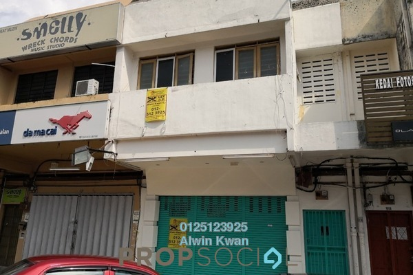 For Rent Shop at Taman Cempaka, Ipoh Freehold Unfurnished 3R/2B 2.3k