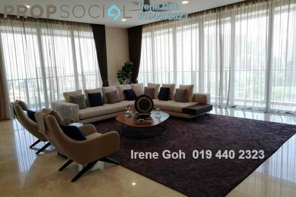 For Rent Condominium at The Penthouse, Tanjung Tokong Freehold Fully Furnished 5R/5B 10k
