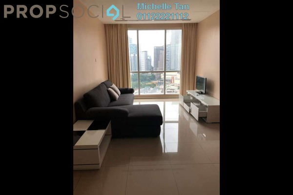 For Rent Serviced Residence at Binjai 8, KLCC Freehold Fully Furnished 1R/1B 2.5k