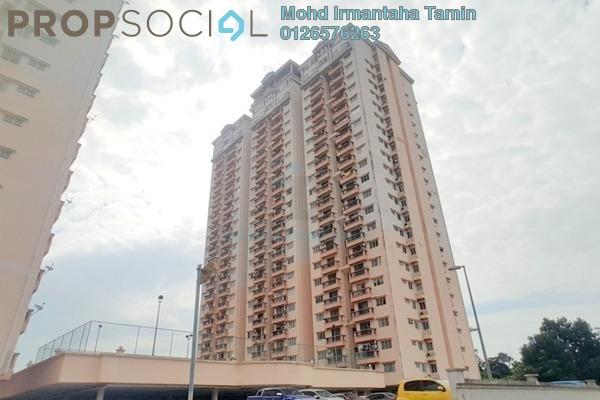 For Sale Condominium at Langat Jaya, Batu 9 Cheras Freehold Semi Furnished 3R/2B 290k