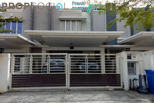 For Sale Terrace at Sephira, Alam Impian Freehold Semi Furnished 4R/4B 860k