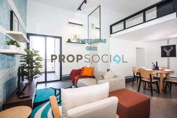 For Sale Condominium at The Establishment, Brickfields Freehold Fully Furnished 2R/2B 930k