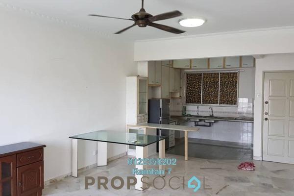For Rent Condominium at Petaling Indah, Sungai Besi Freehold Semi Furnished 2R/2B 1.1k