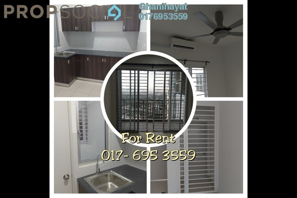 For Rent Condominium at Residensi Sentulmas, Sentul Freehold Semi Furnished 3R/2B 1.7k
