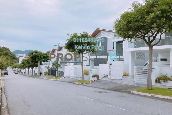 For Sale Bungalow at 35 Pearl Villas, Sungai Ara Freehold Semi Furnished 5R/4B 3.3m