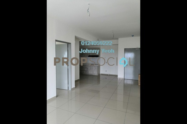 For Rent Condominium at The Edge Residen, Subang Jaya Freehold Semi Furnished 2R/2B 1.5k