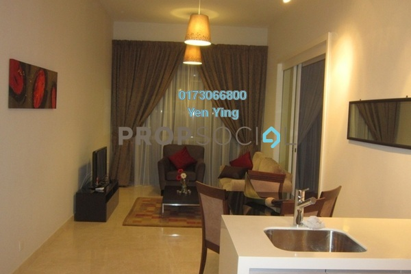 For Rent Condominium at Panorama, KLCC Freehold Fully Furnished 1R/1B 3.2k