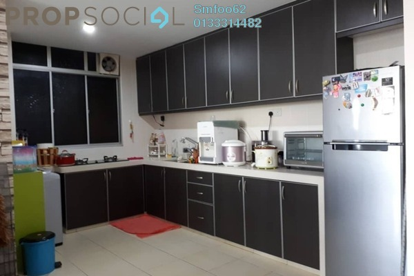 For Rent Condominium at Platinum Lake PV12, Setapak Freehold Semi Furnished 4R/2B 1.8k