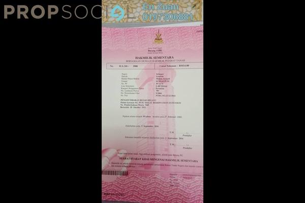 For Sale Land at Kampung Sungai Chinchin, Kuala Lumpur Freehold Fully Furnished 0R/0B 850k