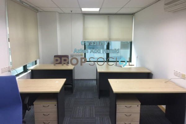 For Rent Office at Megan Avenue 1, KLCC Freehold Fully Furnished 0R/2B 3.1k