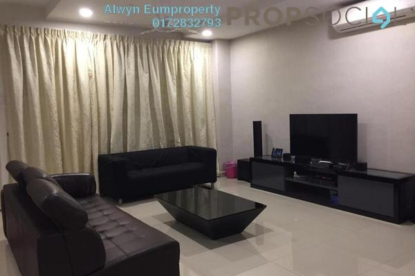 For Sale Semi-Detached at Lake Edge, Puchong Freehold Fully Furnished 4R/4B 970k