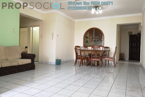 For Sale Condominium at Villa Angsana, Jalan Ipoh Freehold Semi Furnished 4R/3B 520k