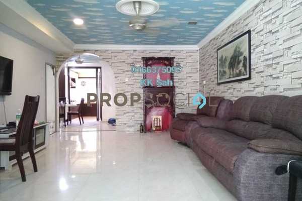 For Sale Link at Bandar Damai Perdana, Cheras South Freehold Fully Furnished 4R/3B 598k