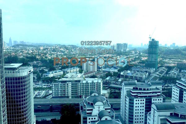 For Rent Serviced Residence at Kiara 163, Mont Kiara Freehold Unfurnished 1R/1B 2.6k