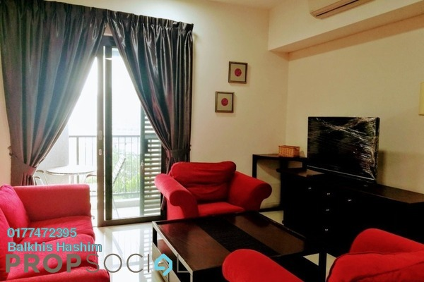 For Rent Serviced Residence at Radia Residences, Bukit Jelutong Freehold Fully Furnished 2R/2B 2k