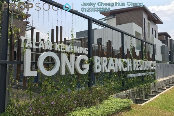 For Sale Bungalow at Long Branch Residences @ HomeTree, Kota Kemuning Leasehold Unfurnished 6R/8B 2.99m