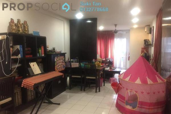 For Sale Condominium at Fortune Avenue, Kepong Freehold Semi Furnished 3R/2B 468k