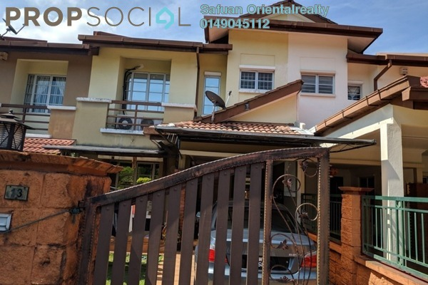 For Sale Terrace at Serambi, Bukit Jelutong Freehold Unfurnished 4R/3B 770k