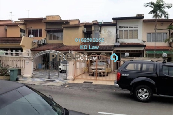 For Sale Terrace at Taman Midah, Cheras Freehold Semi Furnished 4R/3B 800k