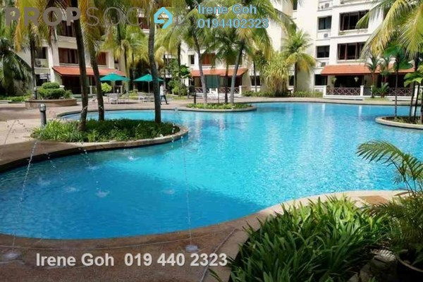 For Rent Condominium at Bellisa Court, Pulau Tikus Freehold Fully Furnished 3R/2B 3.2k