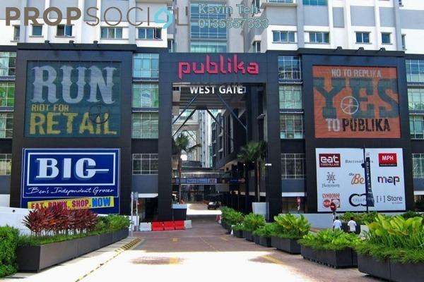 For Sale Condominium at Solaris Dutamas, Dutamas Freehold Fully Furnished 2R/2B 1.05m