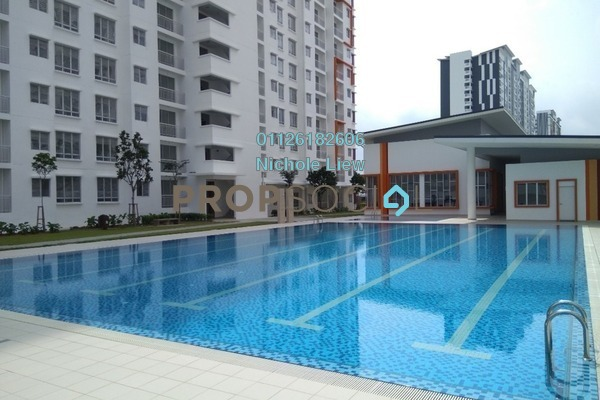 For Rent Condominium at Setia EcoHill, Semenyih Freehold Semi Furnished 3R/2B 650translationmissing:en.pricing.unit