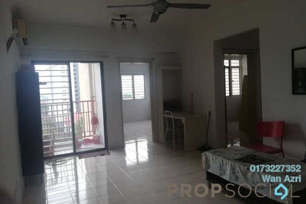 For Rent Apartment at Permai Puteri, Ampang Freehold Unfurnished 3R/2B 1.2k